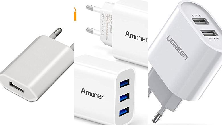 ADAPTADOR CORRIENTE USB