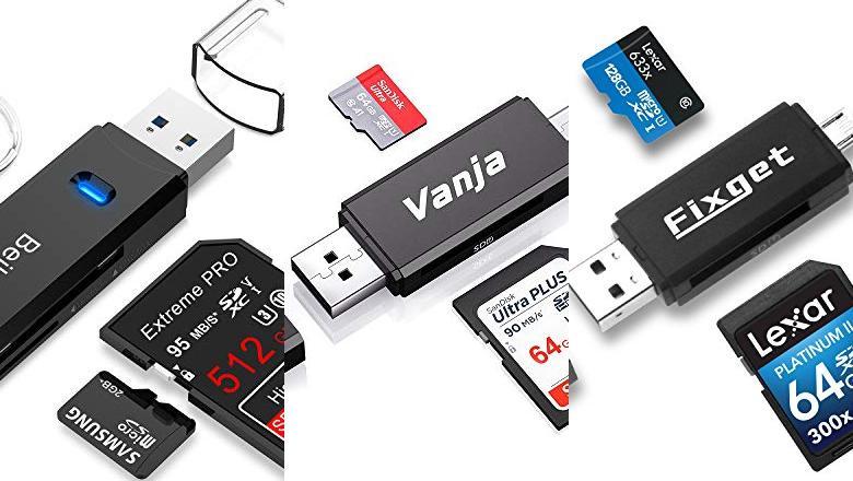 ADAPTADOR TARJETA SD A USB