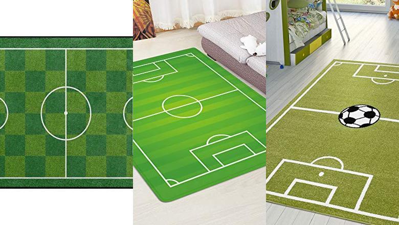 Comprar Alfombra con Diseño de Campo de Fútbol  OFERTAS TOP marzo 2019 37ee0fed17db7