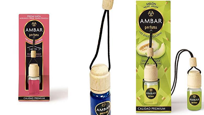 AMBIENTADOR DE COCHE AMBAR