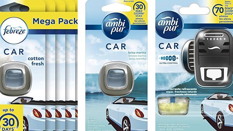 AMBIENTADOR DE COCHE AMBIPUR CAR