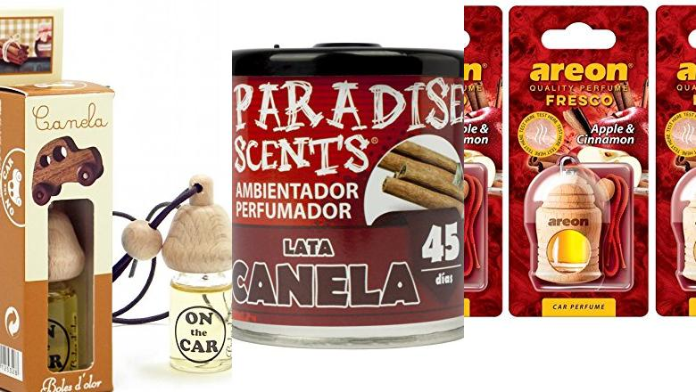 AMBIENTADOR DE COCHE CANELA
