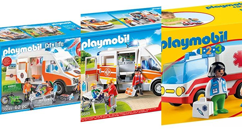 JUGUETES AMBULANCIA PLAYMOBIL