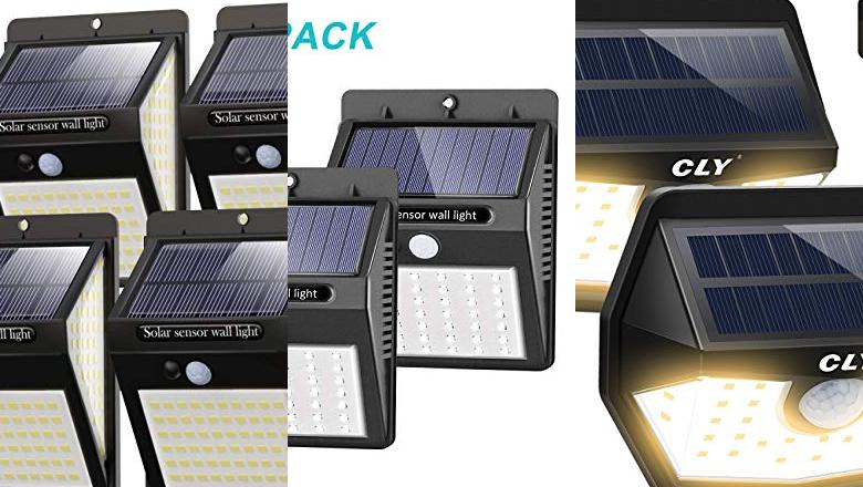 APLIQUE SOLAR LED EXTERIOR