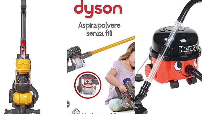 ASPIRADORA JUGUETE DYSON