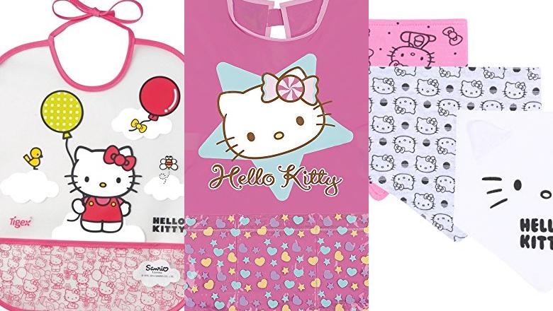 BABEROS HELLO KITTY