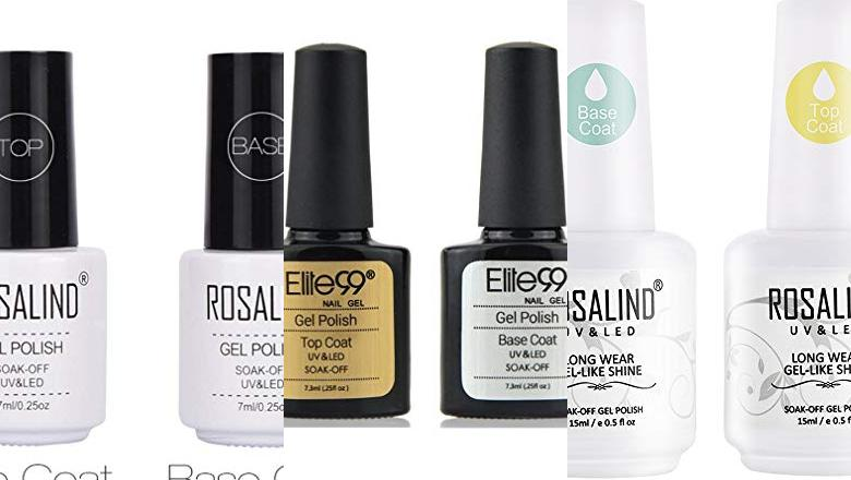 BASE COAT Y TOP COAT SEMIPERMANENTE