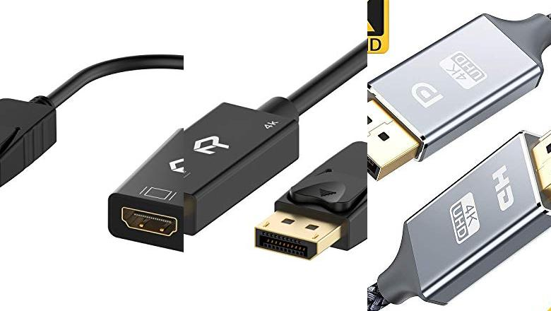 CABLE DISPLAYPORT A HDMI