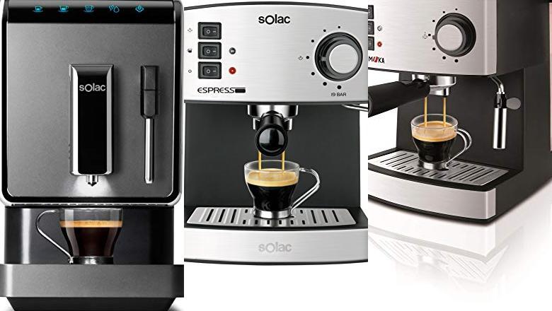 CAFETERAS SOLAC 18 BARES