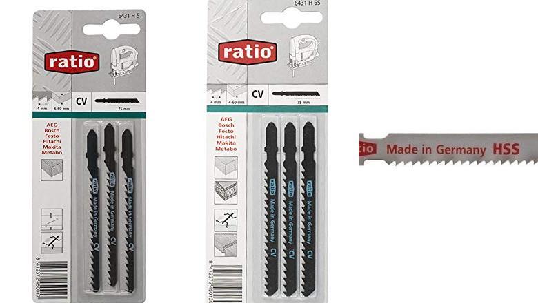 Ratio 6431H65 Sierra Caladora Ratio Para Bosch Juego 3