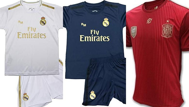 CAMISETAS DE FÚTBOL REAL MADRID