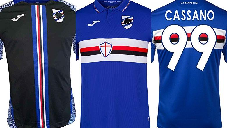 CAMISETA SAMPDORIA