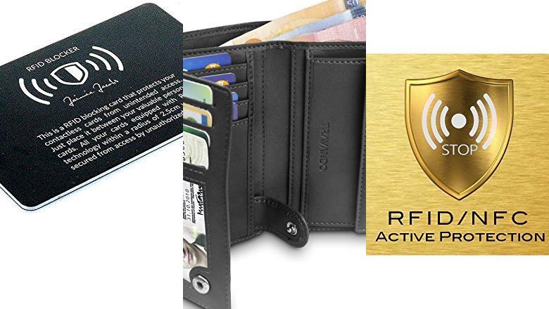 CARTERAS CON PROTECCION RFID