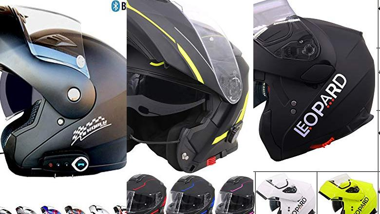 CASCO DE MOTO MODULAR BLUETOOTH