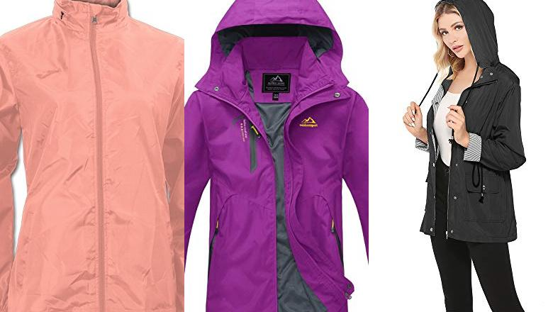 CHAQUETAS IMPERMEABLE MUJER