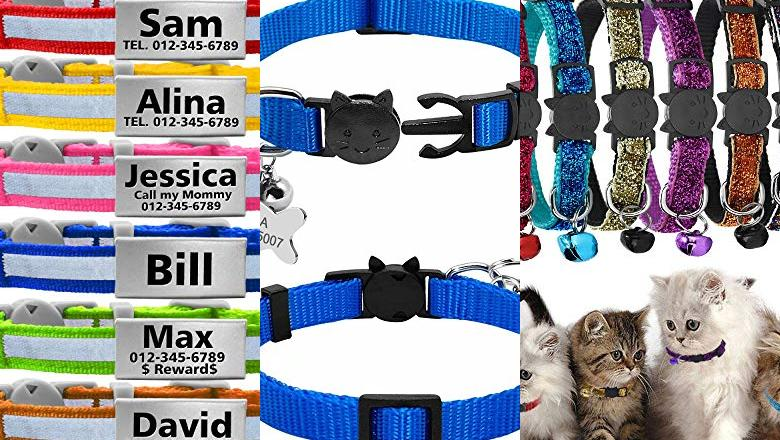 COLLAR PARA GATOS PERSONALIZABLE