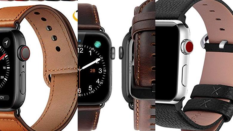 CORREAS CUERO APPLE WATCH
