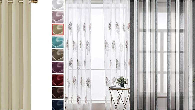CORTINAS SALON MODERNA