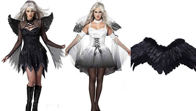 DISFRACES DE HALLOWEEN ANGEL CAIDO