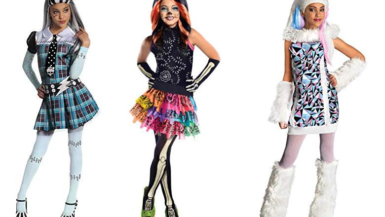 DISFRACES HALLOWEEN MONSTER HIGH