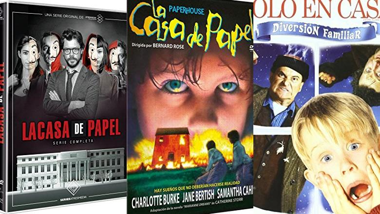 DVD LA CASA DE PAPEL
