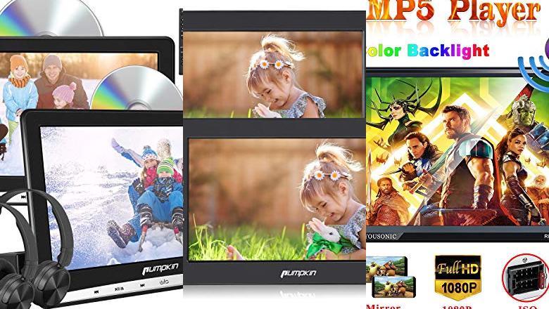 DVD PARA COCHES 2 PANTALLAS