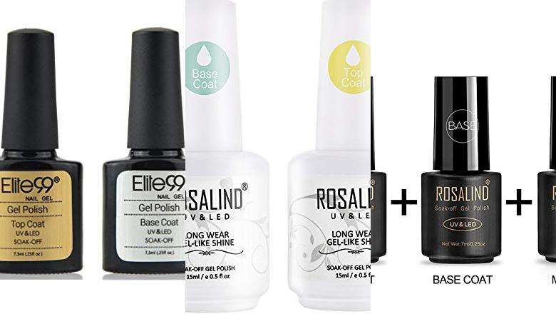 ESMALTE BASE Y TOP COAT