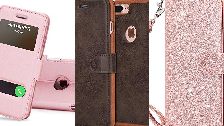 FUNDA CON TAPA IPHONE 7 PLUS