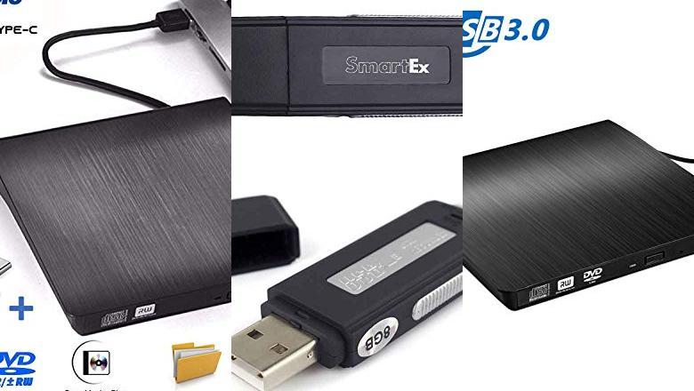 GRABADORES USB
