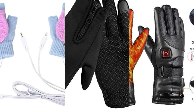GUANTES CALEFACTABLES MUJER
