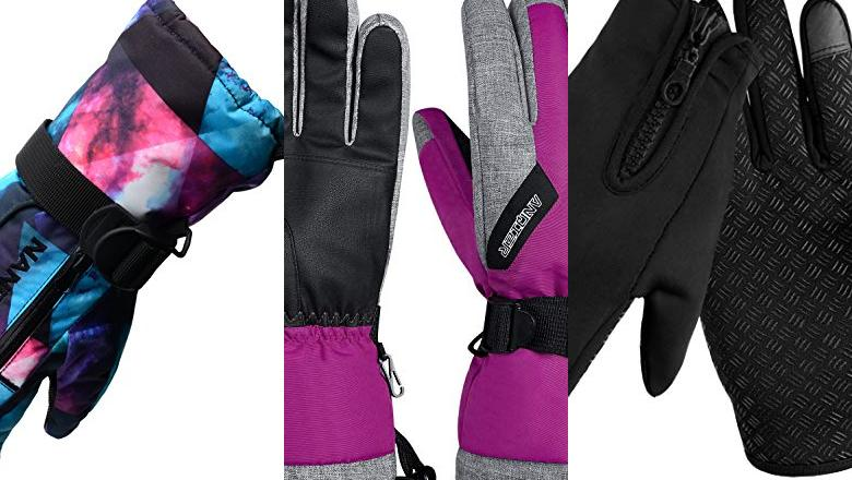 GUANTES NIEVE MUJER