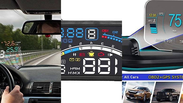 HEAD UP DISPLAY BLUETOOTH