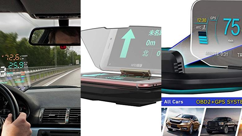 HEAD UP DISPLAY COCHE