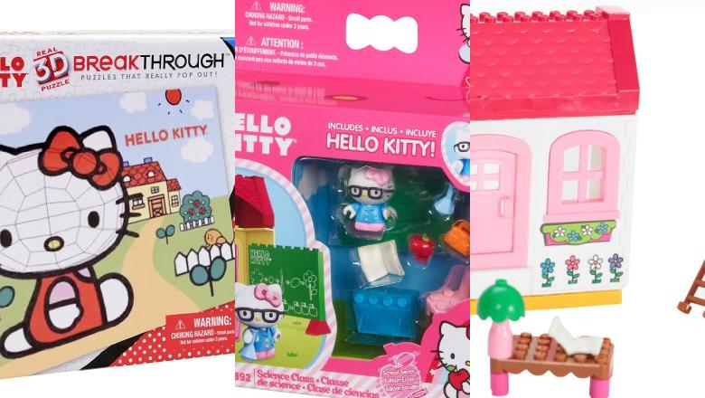 JUGUETES HELLO KITTY MEGA BLOKS