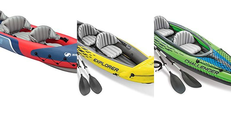 KAYAKS 3 PLAZAS