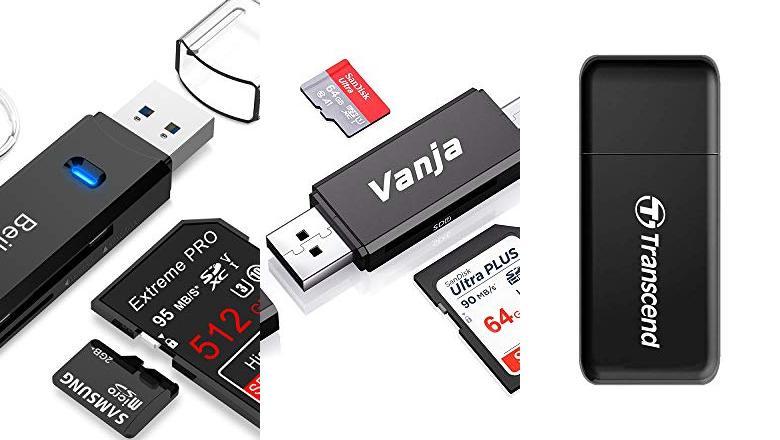 LECTOR SD USB