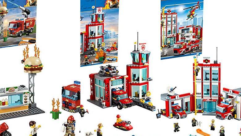 LEGO BOMBEROS