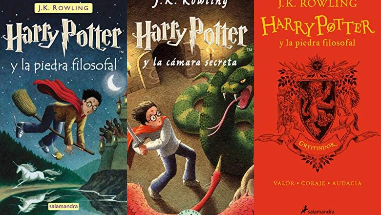 LIBRO HARRY POTTER 1 ESPAÑOL