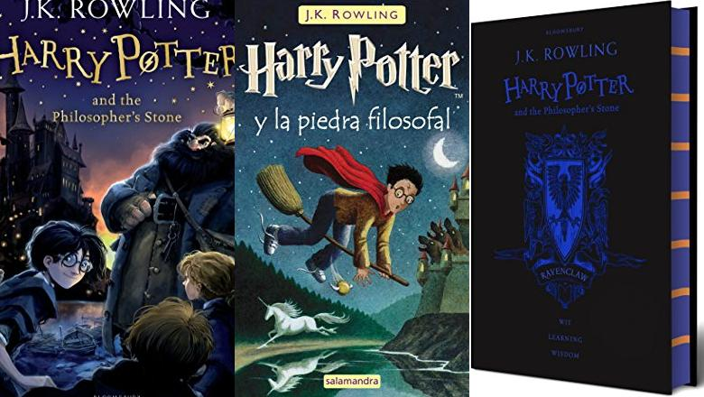 LIBRO HARRY POTTER 1 INGLÉS