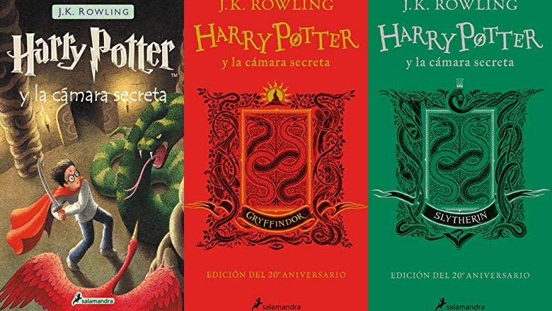 LIBRO HARRY POTTER 2 TAPA DURA