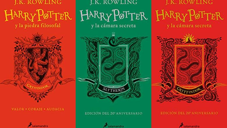 LIBRO HARRY POTTER 20 ANIVERSARIO