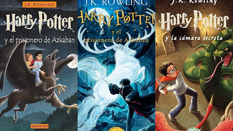 LIBRO HARRY POTTER 3 SALAMANDRA