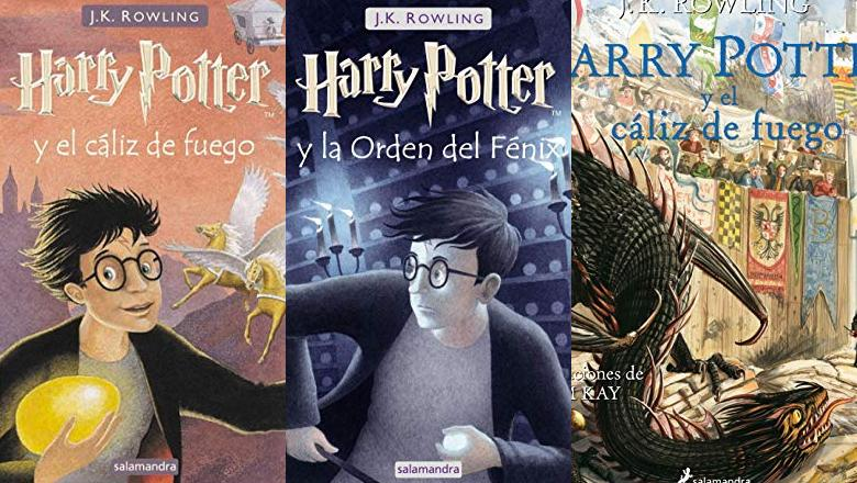 LIBROS HARRY POTTER 4 TAPA DURA
