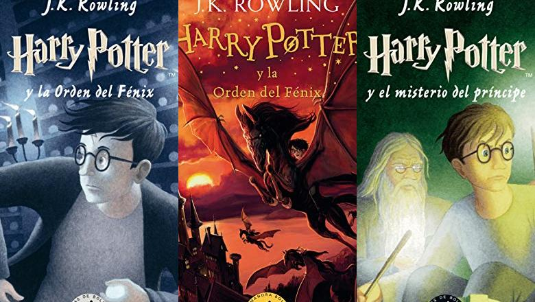 LIBRO HARRY POTTER 5 TAPA BLANDA