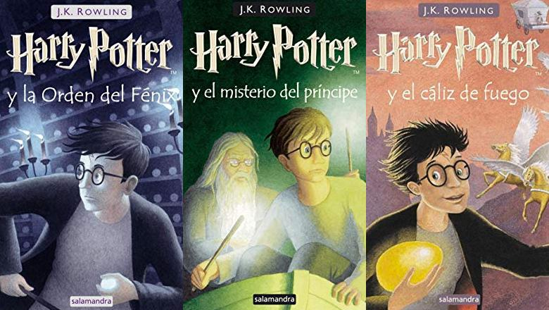LIBROS HARRY POTTER 5 TAPA DURA