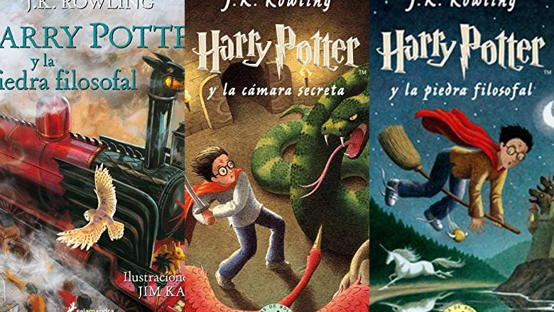 LIBROS HARRY POTTER 6 AÑOS