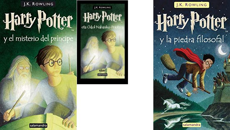 LIBRO HARRY POTTER 6 TAPA DURA