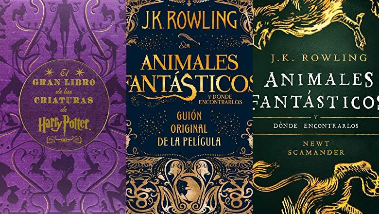 LIBRO DE HARRY POTTER ANIMALES FANTASTICOS