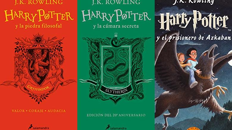 LIBRO HARRY POTTER ANIVERSARIO