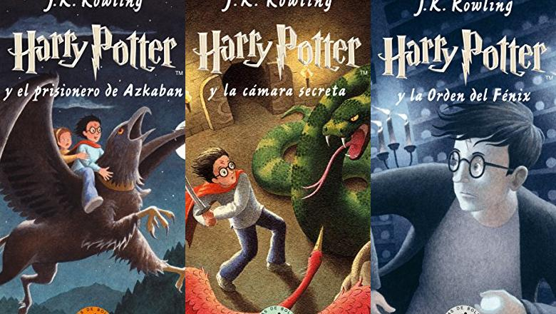 LIBROS DE HARRY POTTER BOLSILLO